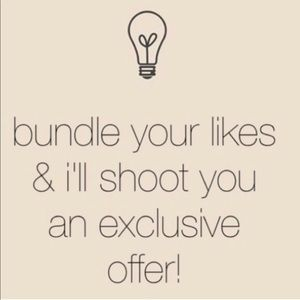 Bundle your likes and I'll send you a deal